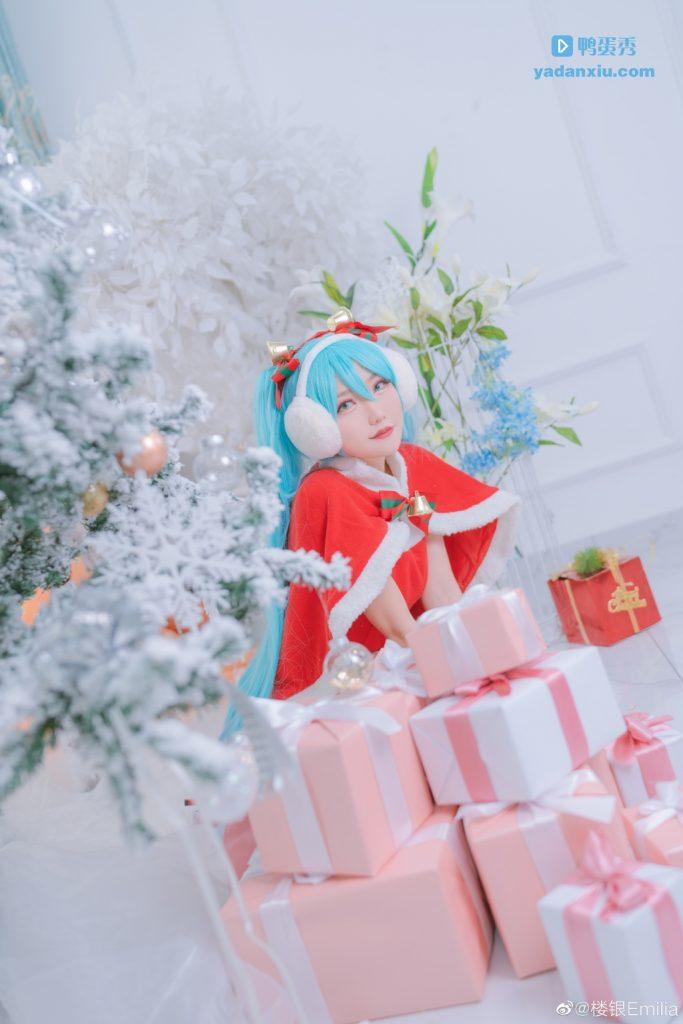 可爱的初音未来圣诞节特别版