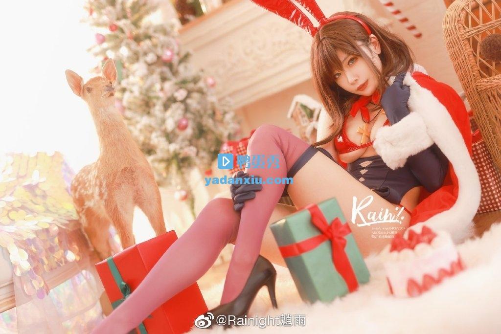 来自圣诞节的礼物兔女郎cosplay