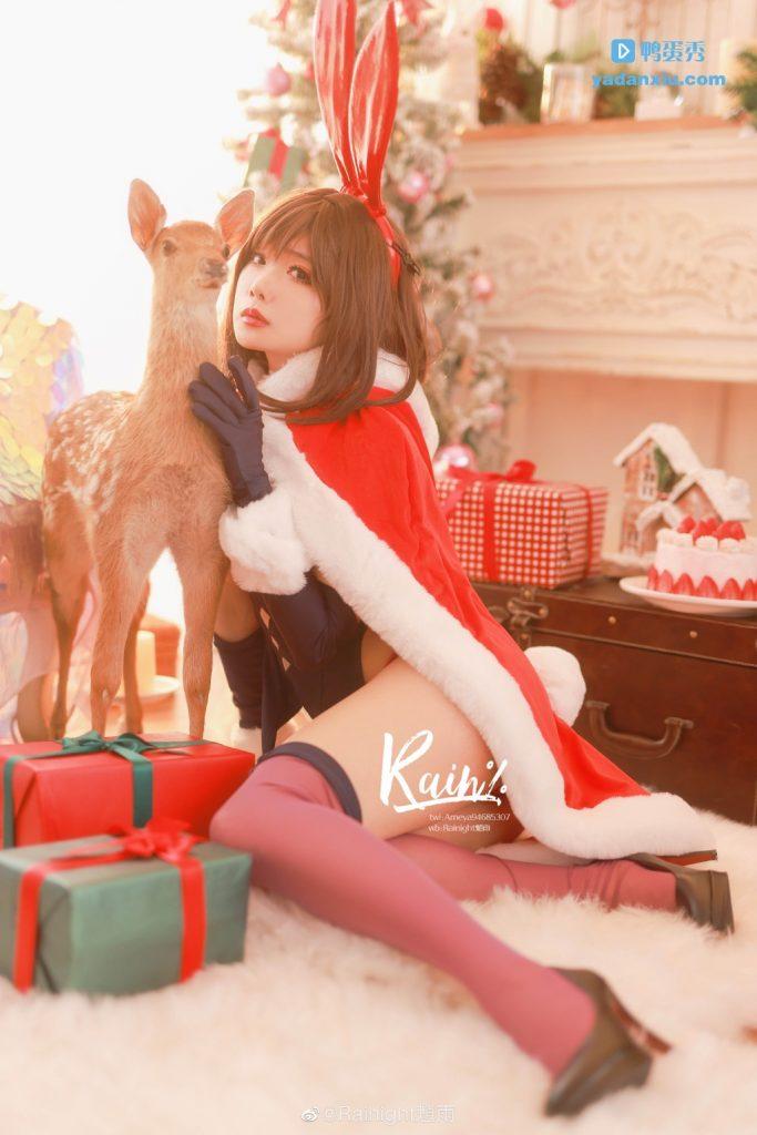 兔女版圣诞老人