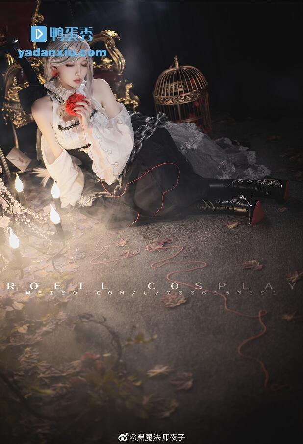 黑魔法师夜子写真照